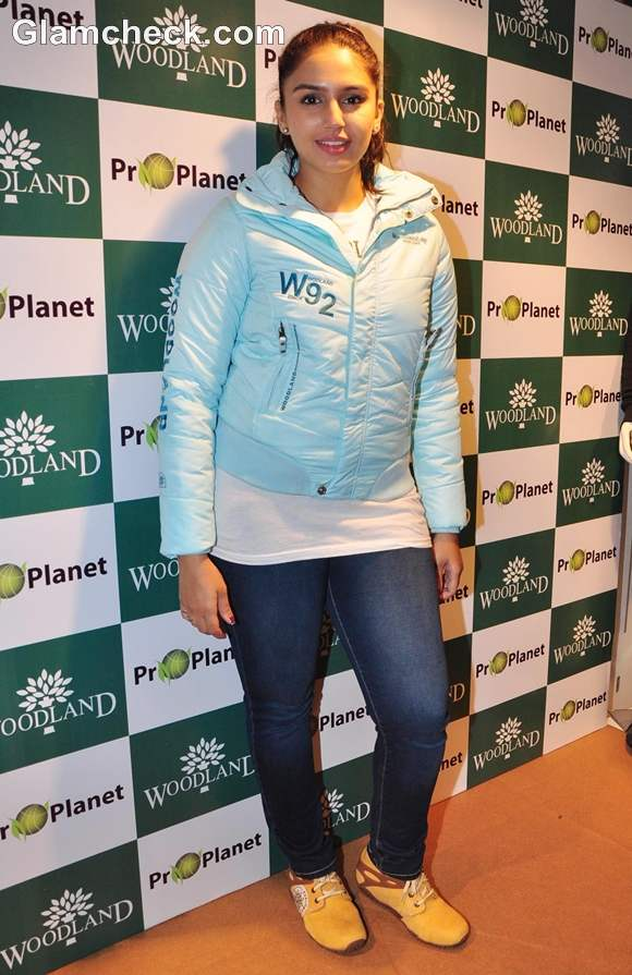 Huma Qureshi Launches Woodlands Fall Winter 2012 Collection