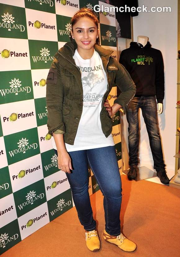 Huma Qureshi at the launch of Woodland Fall Winter Collection 2012