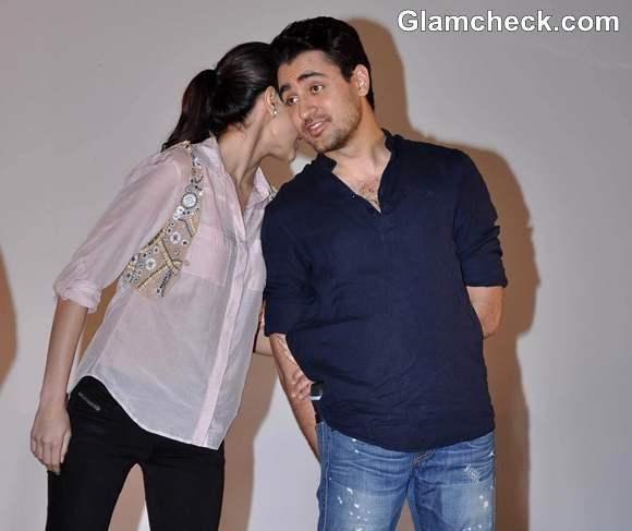 Imran And Anushka Sharma Promote Their Movie  IIT Powai