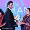Irrfan Khan and Sonal Mansingh at the CNN-IBN Indian of the Year 2012 awards