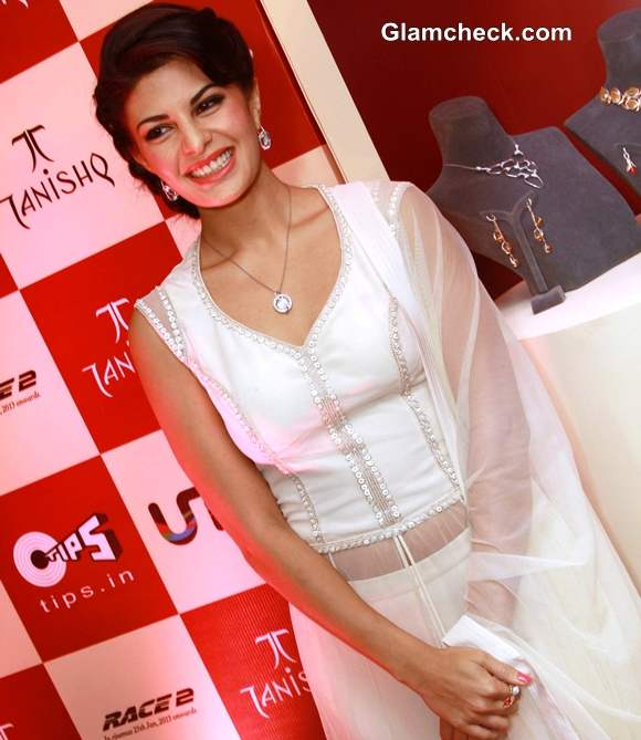Jacqueline Fernandez at Tanishq  new Collection launch