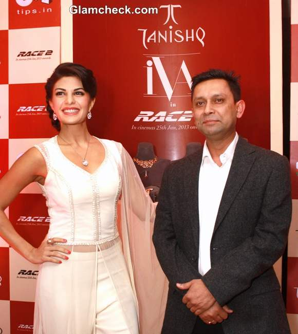 Jacqueline Fernandez  for Tanishq launch of new Collection