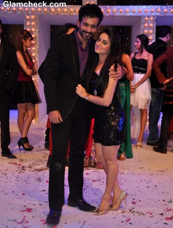 Jay Bhanushali with wife Mahi Vij Nach Baliye Season 5 Contestant