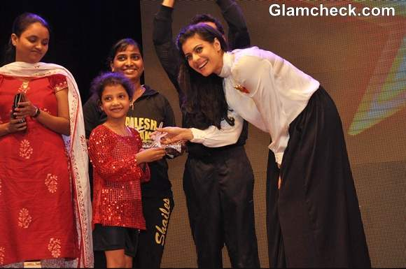 Kajol At Star Dance Academy's Annual Function