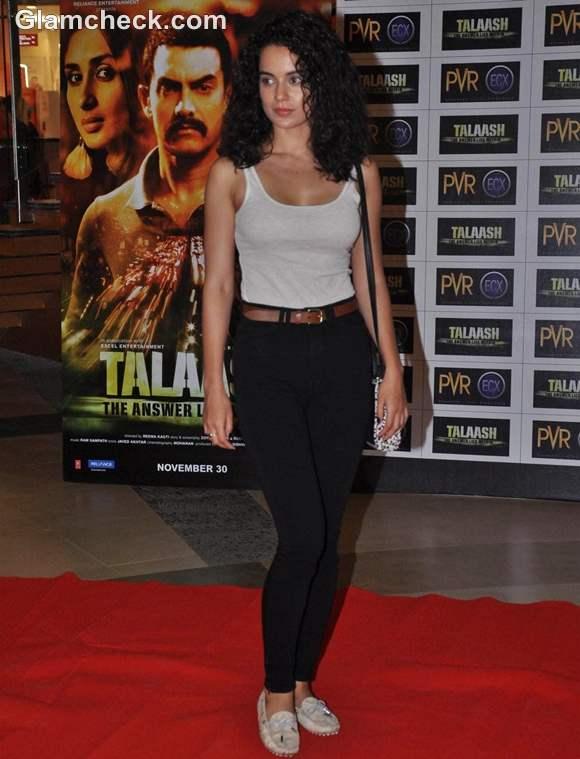 Kangna Ranaut Talaash Premiere