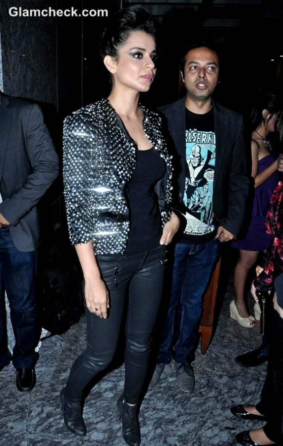 Kangna Ranaut at Dinner Party for Andre Agassi