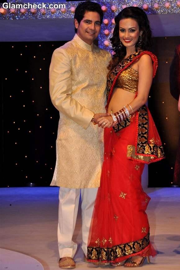 Karan Mehra with wife Nisha Rawal Nach Baliye Season 5 Contestant