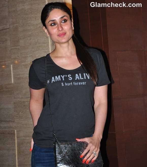 Kareena Kapoor Casual At The Success Party Of Talaash
