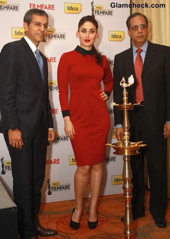 Kareena Kapoor at 58th  filmfare awards