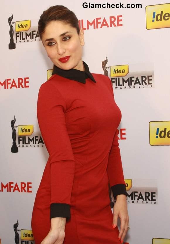 Kareena Kapoor in ASOS Red Dress