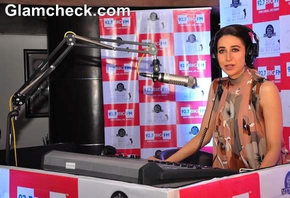 Karisma Kapoor hosts a new Radio show