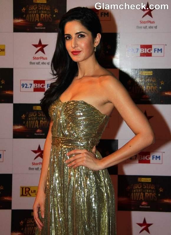 Katrina Kaif Big Star Entertainment Awards 2012