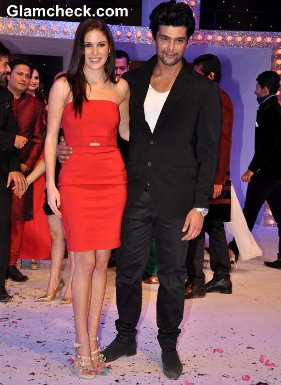 Kushal Tandon with wife Elena Tandon Nach Baliye Season 5 Contestant