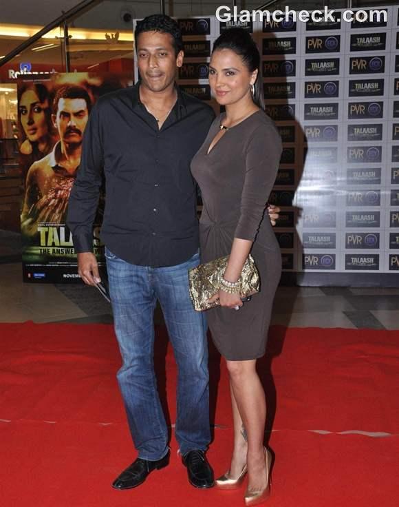 Lara Dutta husband player Mahesh Bhupathi Talaash Premiere