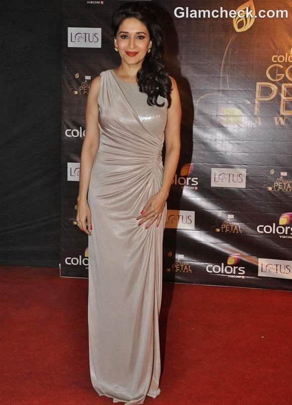 Madhuri Dixit Nene at Colors Petals Awards 2012