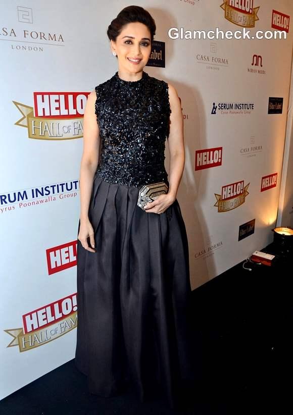 Madhuri Dixit at Hello Hall of Fame Awards 2012
