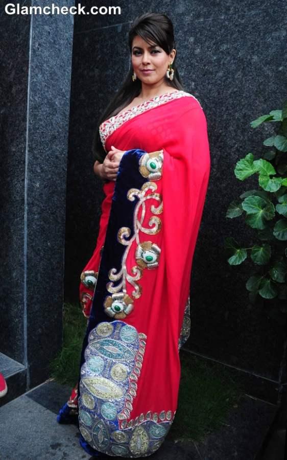Mahima Choudhary For Designer Mohit Falod