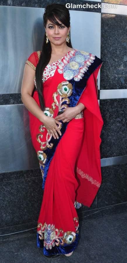 Mahima Choudhary sari