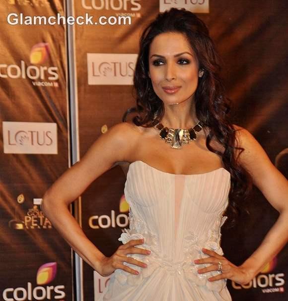 Malaika Arora Khan Colors Golden Petal Awards 2012