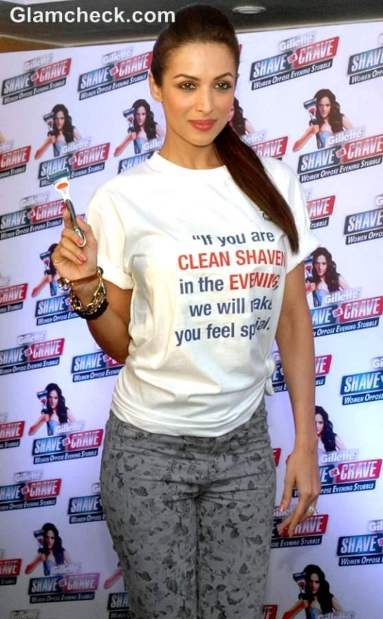 Malaika Arora Khan Gillete launch Shave or Crave in Mumbai