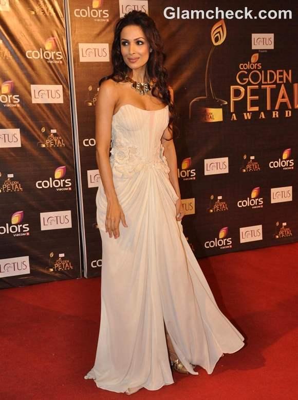 Malaika Arora Khan at Colors Golden Petal Awards 2012