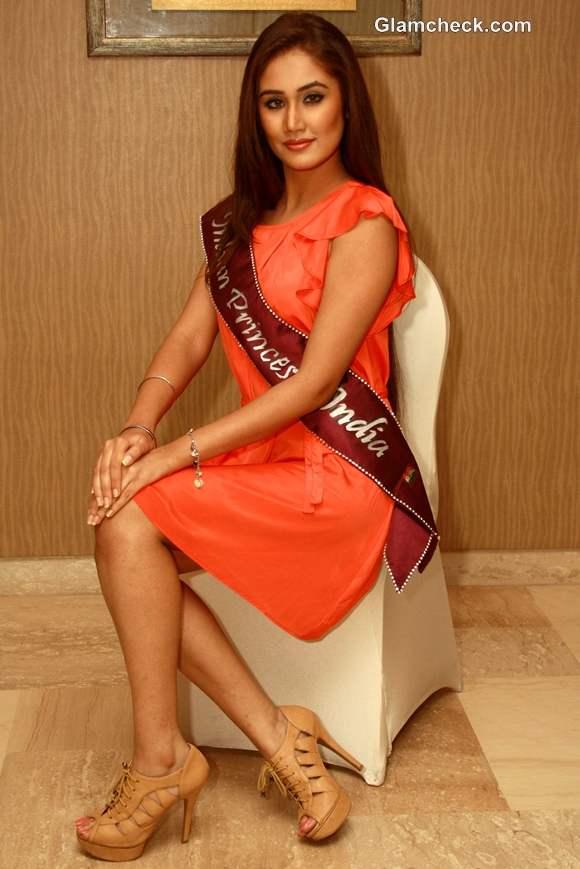 Mrinalini Singh Indian Princess 2012 winner at Indian Princess 2013 auditions