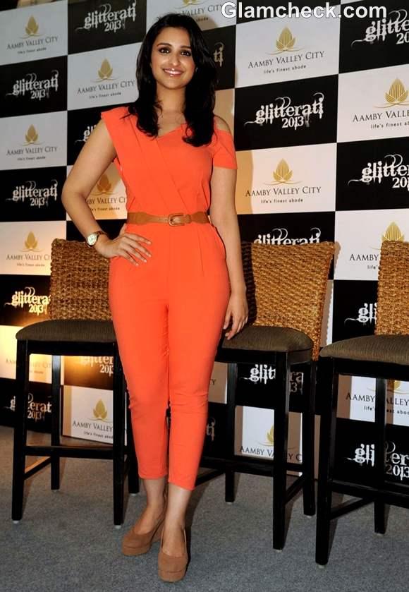 Parineeti Chopra jumpsuit Aamby Valley Citys Glitterati 2013