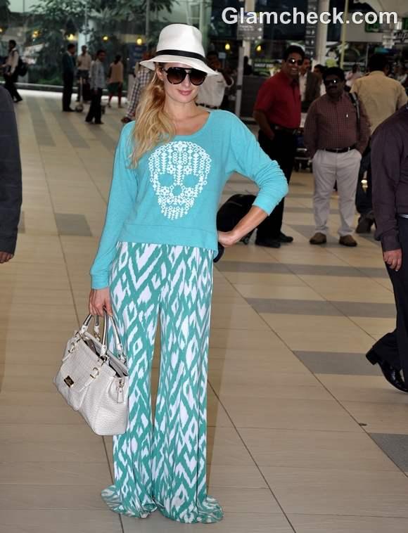 Paris Hilton in Mumbai