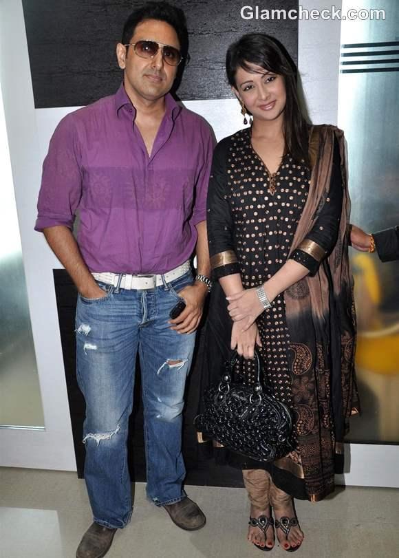 Preeti Jhangiani with husband
