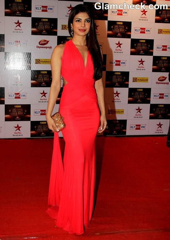 Priyanka Chopra Big Star Entertainment Awards 2012