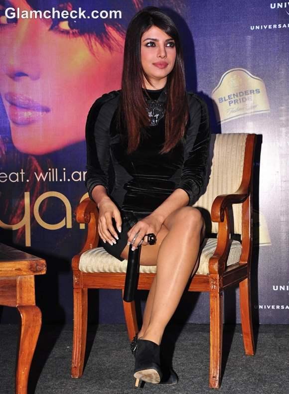 Priyanka Chopra Blenders Pride Fashion Tour Press