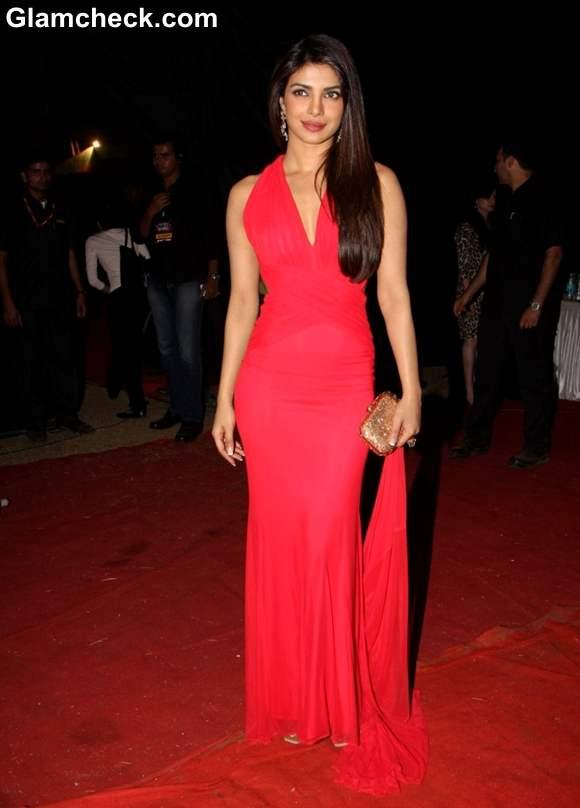Priyanka Chopra  the BIG Star Entertainment Awards 2012