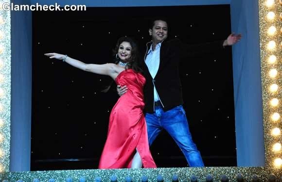 Rahul Mahajan and Dimpy Ganguly Nach Baliye Season 5 Launch
