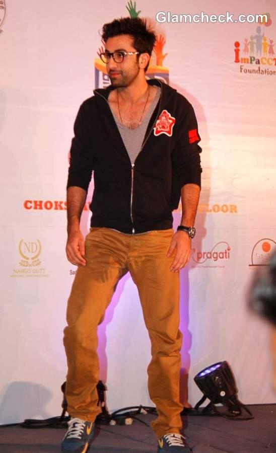 Ranbir Kapoor Christmas At Hope 2012 Event
