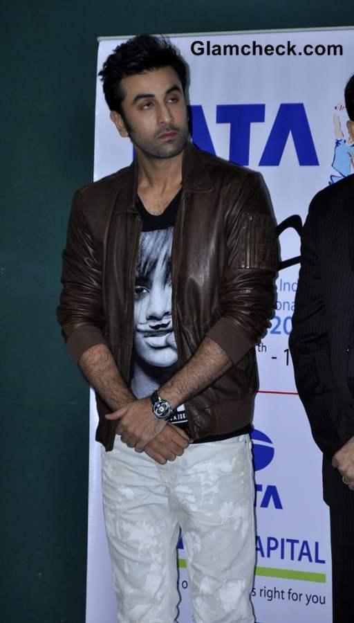 Ranbir Kapoor Tata Open India International Challenge 2012