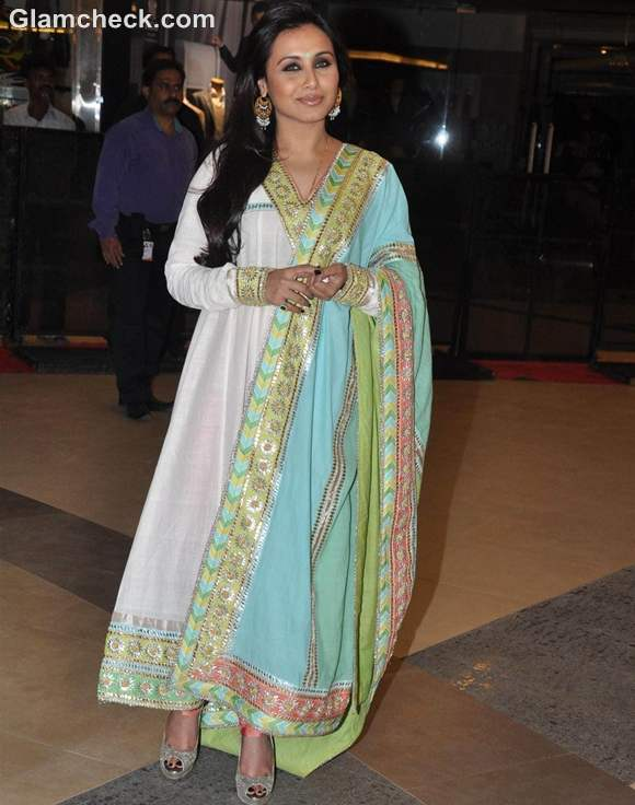 Rani Mukherji in Anarkali at Talaash Premiere
