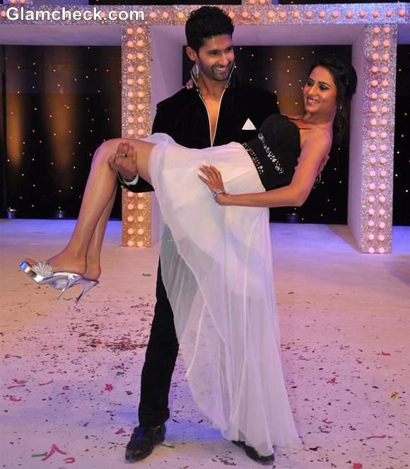 Ravi Dubey with wife Sargun Mehta Nach Baliye Season 5 Contestant