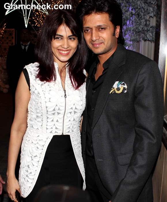 Riteish Deshmukh  Genelia Deshmukh Anu and Sunny Dewan Christmas Party