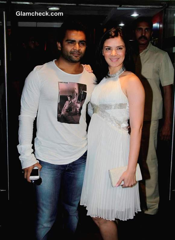 Sachin Joshi with wife Urvashi Sharma mumbai mirror first look