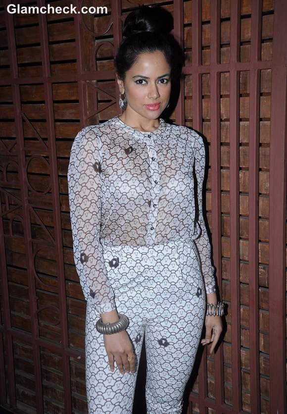 Sameera Reddy Attends Hi Blitz Magazine Bash in Mumbai