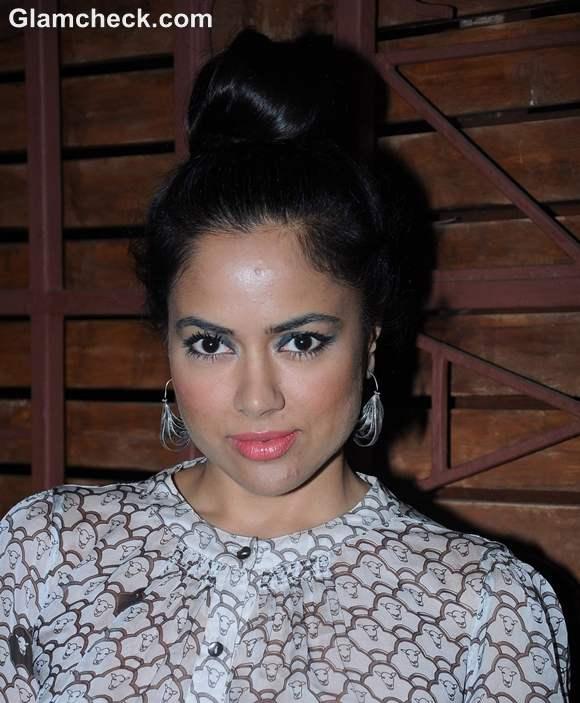 Sameera Reddy at Hi Blitz Magazine Bash in Mumbai