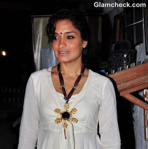 Sandhya Mridul Sports  Boho Look At The Launch Of Talespin