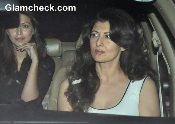 Sangeeta Bijlani at Salman Khan 47th Birthday Bash