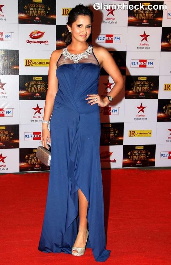 Sania Mirza Big Star Entertainment Awards 2012