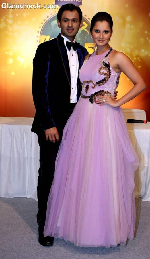 Sania Mirza and Shoaib Malik Surprise jodi on Nach Baliye 5