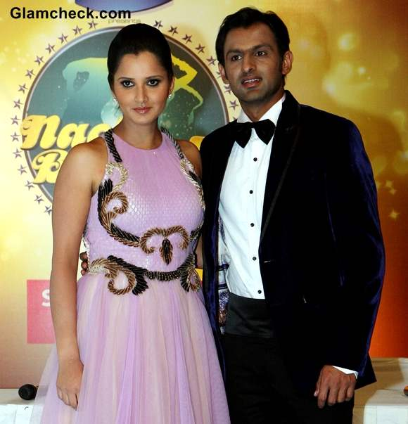 Sania Mirza and husband Shoaib Malik Surprise Guest Couple on Nach Baliye 5