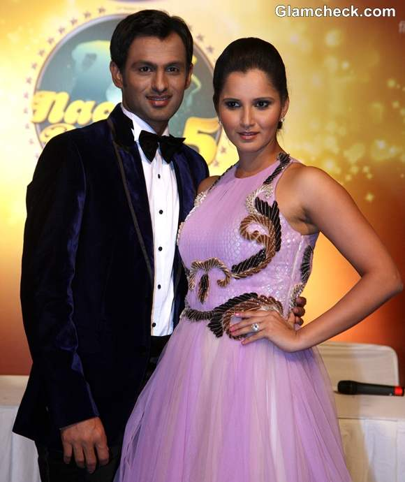 Sania Mirza and husband Shoaib Malik the Surprise Guest Couple on Nach Baliye 5