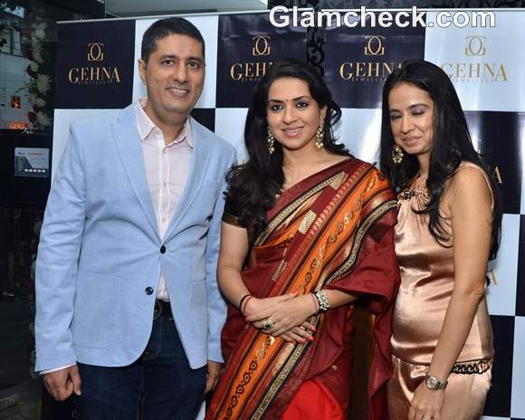 Shaina NC Launches New Jewellery Line at Gehna