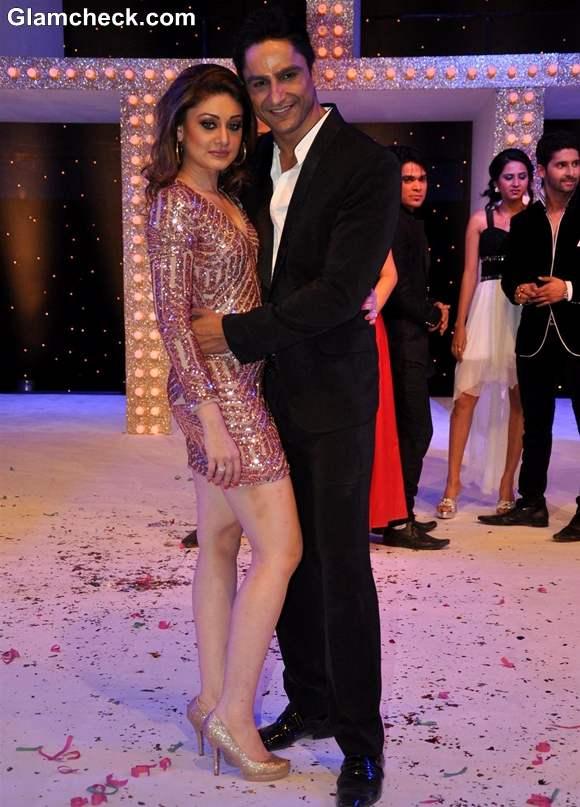 Shefali Zariwala with boyfriend Parag Tyagi Nach Baliye Season 5 Contestant