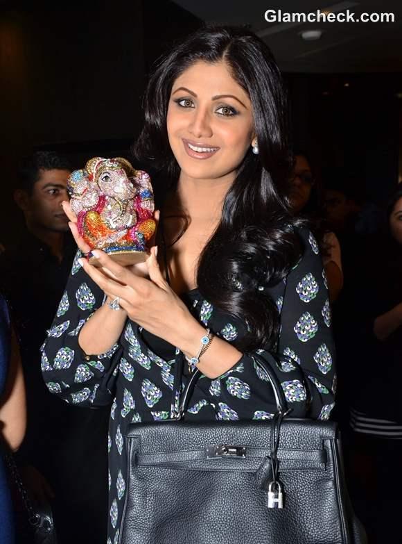 Shilpa Shetty Judith Leiber event at Arola in Mumbai